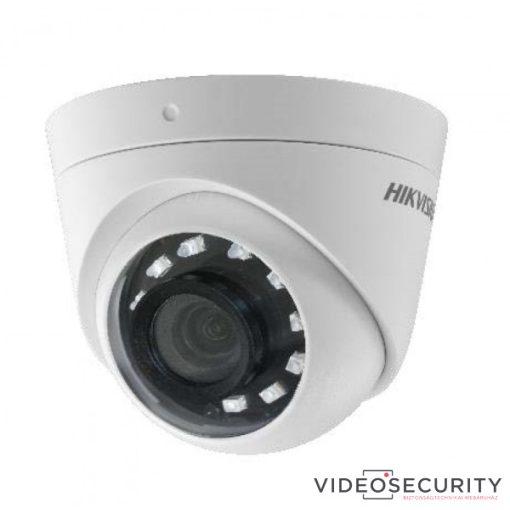 Hikvision DS-2CE56D0T-I2FB (6mm) 2 MP THD fix IR dómkamera; TVI/AHD/CVI/CVBS kimenet; OSD menü; beépített balun