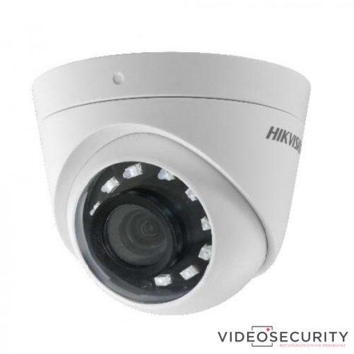 Hikvision DS-2CE56D0T-I2PFB (2.8mm) 2 MP THD fix IR dómkamera; TVI/AHD/CVI/CVBS kimenet; OSD menü; beépített balun
