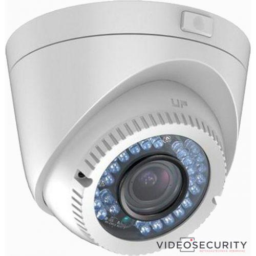 Hikvision DS-2CE56D0T-VFIR3F (2.8-12mm) 2 MP THD varifokális IR dómkamera; TVI/AHD/CVI/CVBS kimenet