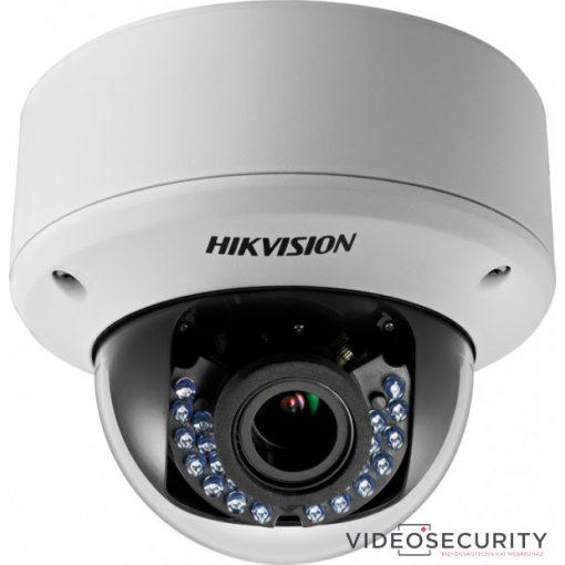 Hikvision DS-2CE56D0T-VPIR3F (2.8-12mm) 2 MP THD varifokális IR dómkamera; TVI/AHD/CVI/CVBS kimenet