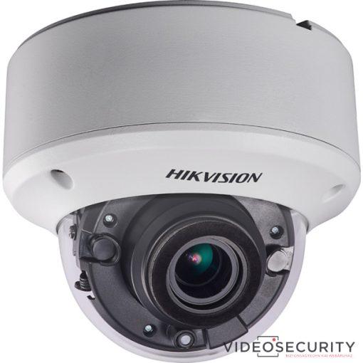 Hikvision DS-2CE56D8T-VPIT3ZE (2.8-12mm) 2 MP THD WDR motoros zoom EXIR dómkamera; OSD menüvel; PoC