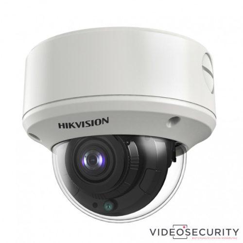 Hikvision DS-2CE56D8T-VPIT3ZF (2.7-13.5) 2 MP THD WDR motoros zoom EXIR dómkamera OSD menüvel TVI/AHD/CVI/CVBS kimenet