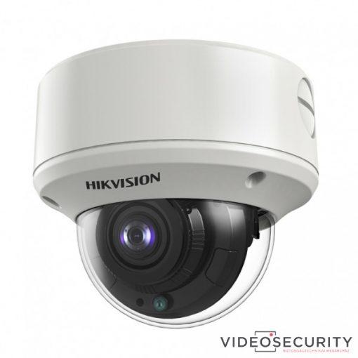 Hikvision DS-2CE56D8T-VPIT3ZF (2.7-13.5) 2 MP THD WDR motoros zoom EXIR dómkamera; OSD menüvel; TVI/AHD/CVI/CVBS kimenet