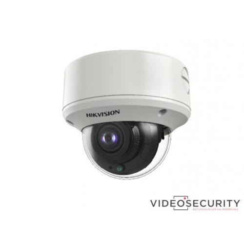 Hikvision DS-2CE59H8T-AVPIT3ZF(2.7-13.5) 5 MP THD vandálbiztos motoros zoom EXIR dómkamera OSD menüvel TVI/AHD/CVI/CVBS kimenet