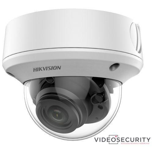 Hikvision DS-2CE5AU1T-AVPIT3ZF(2.7-13.5) 8 MP THD vandálbiztos motoros zoom EXIR dómkamera OSD menüvel