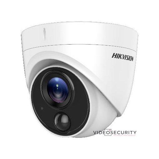 Hikvision DS-2CE71D0T-PIRLPO (2.8mm) 2 MP THD fix dómkamera; OSD menüvel; PIR mozgásérzékelővel