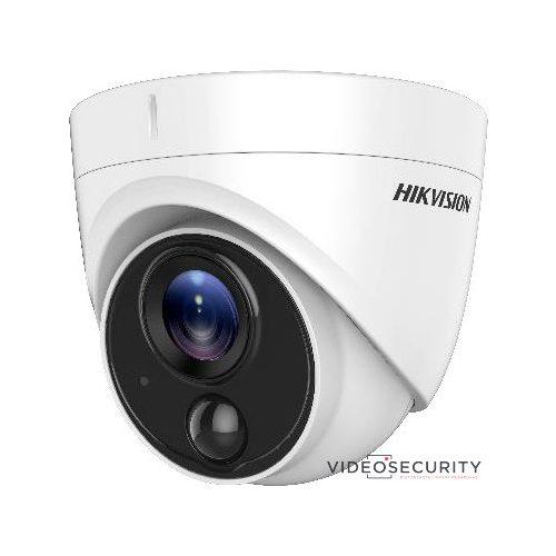 Hikvision DS-2CE71D8T-PIRLO (2.8mm) 2 MP THD WDR fix EXIR dómkamera OSD menüvel PIR mozgásérzékelővel riasztás kimenet