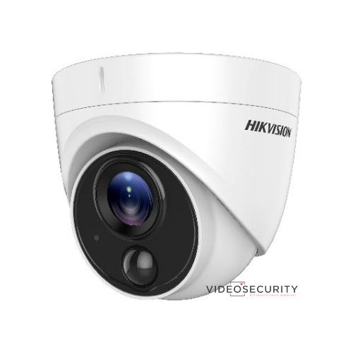 Hikvision DS-2CE71H0T-PIRLO (3.6mm) 5 MP THD fix dómkamera; OSD menüvel; PIR mozgásérzékelővel