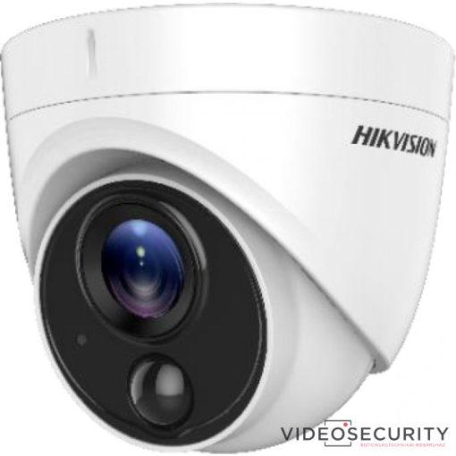 Hikvision DS-2CE71H0T-PIRLPO (3.6mm) 5 MP THD fix dómkamera; OSD menüvel; PIR mozgásérzékelővel; riasztás kimenet