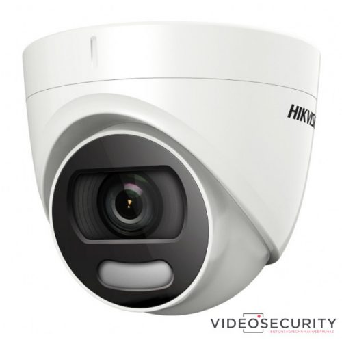 Hikvision DS-2CE72DFT-F28 (2.8mm) 2 MP ColorVu THD WDR fix dómkamera; OSD menüvel