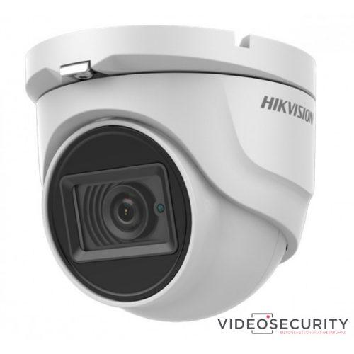 Hikvision DS-2CE76D0T-ITMFS (2.8mm) 2 MP THD fix EXIR dómkamera TVI/AHD/CVI/CVBS kimenet beépített mikrofon koax audio