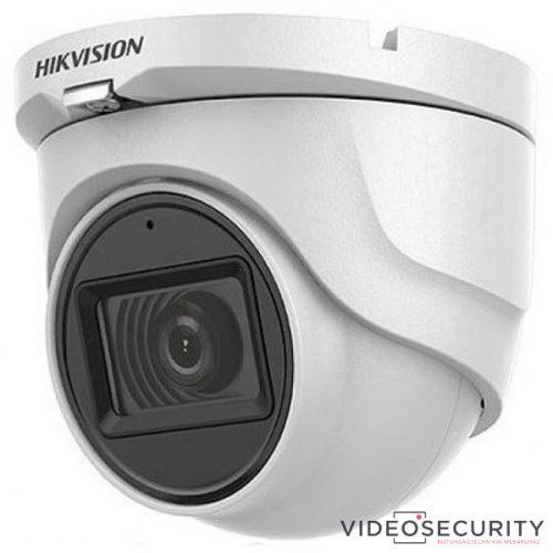Hikvision DS-2CE76H0T-ITMFS (2.8mm) 5 MP THD fix EXIR dómkamera OSD menüvel TVI/AHD/CVI/CVBS kimenet koax audio