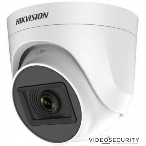 Hikvision DS-2CE76H0T-ITPF (2.4mm) (C) 5 MP THD fix EXIR dómkamera OSD menüvel TVI/AHD/CVI/CVBS kimenet