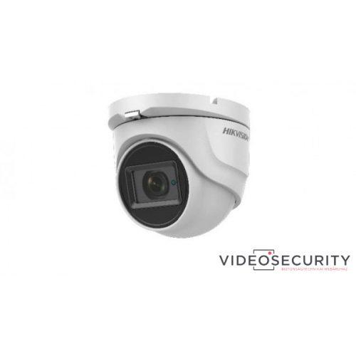 Hikvision DS-2CE76H8T-ITMF (2.8mm) 5 MP THD WDR fix EXIR dómkamera OSD menüvel TVI/AHD/CVI/CVBS kimenet