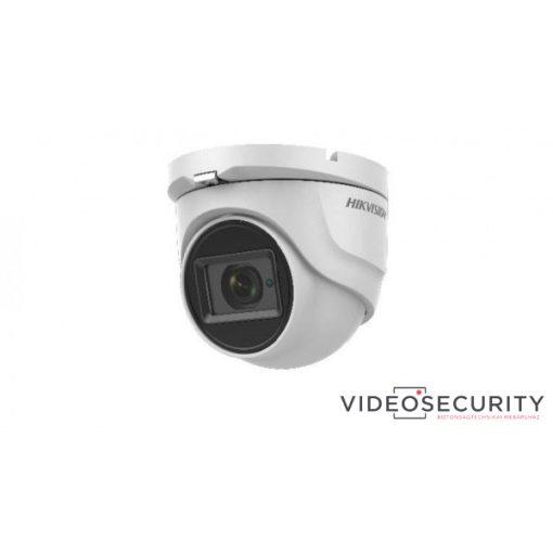Hikvision DS-2CE76H8T-ITMF (6mm) 5 MP THD WDR fix EXIR dómkamera; OSD menüvel; TVI/AHD/CVI/CVBS kimenet