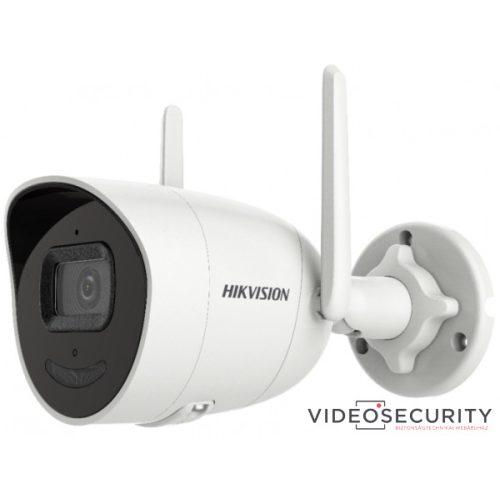Hikvision DS-2CV2026G0-IDW (2.8mm)(D) 2 MP WiFi fix EXIR AcuSense IP csőkamera beépített mikrofon és hangszóró villogó fény/hangriasztás