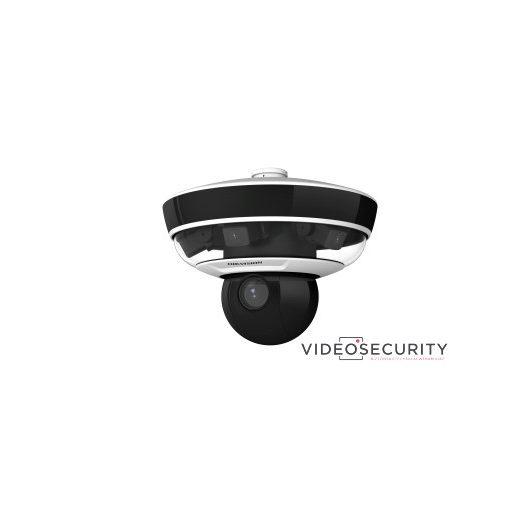 Hikvision DS-2PT5326IZ-DE (5-50mm) (4mm) PanoVu mini 240° panoráma- és IP PTZ dómkamera; 10x zoom