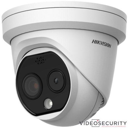 Hikvision DS-2TD1217-2/PA IP hő- (160x120) 90°x66° és láthatófény (4 MP) kamera ±8°C -20°C-150°C villogó fény/hangriasztás