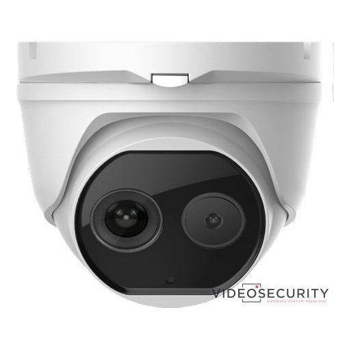 Hikvision DS-2TD1217-6/V1 IP hő- (160x120) 25°x19° és láthatófény (2 MP) kamera; ±8°C; -20°C-150°C