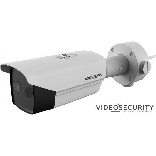 Hikvision DS-2TD2617-6/V1 IP hő- (160x120) 25°x19° és láthatófény (2 MP) 53°x30° kamera ±8°C -20°C-150°C