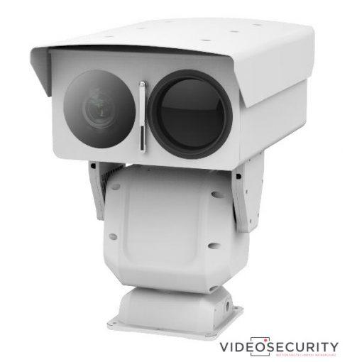 Hikvision DS-2TD8166-150ZH2F/V2 IP motoros zoom (30-150mm) hő- (640x512) és 2MP (12.5-205 mm) WDR EXIR (500 m) forgózsámolyos kamera