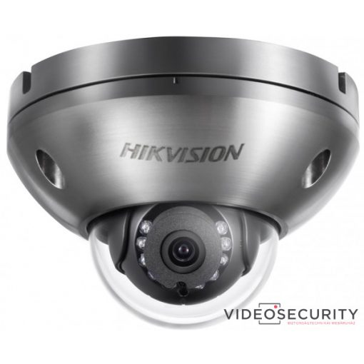 Hikvision DS-2XC6142FWD-IS (4mm) 4 MP WDR korrózióálló fix IR IP dómkamera; hang be- és kimenet