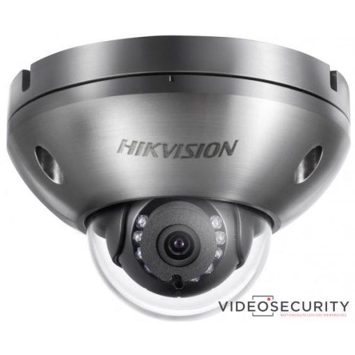 Hikvision DS-2XC6142FWD-IS (6mm) 4 MP WDR korrózióálló fix IR IP dómkamera; hang be- és kimenet