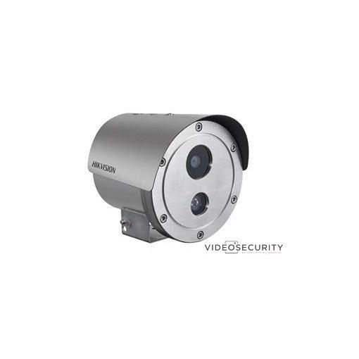 Hikvision DS-2XE6222F-IS/316L (4mm) 2 MP WDR robbanásbiztos EXIR fix IP csőkamera; hang be- és kimenet; korrózióálló kivitel