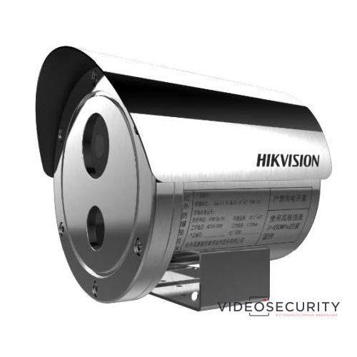 Hikvision DS-2XE6242F-IS (12mm) 4 MP WDR robbanásbiztos EXIR fix IP csőkamera hang be- és kimenet