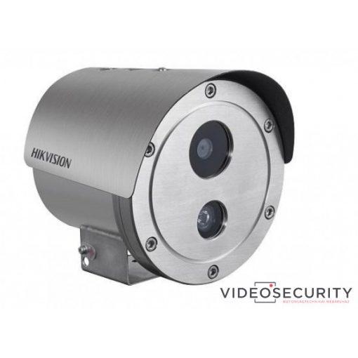 Hikvision DS-2XE6242F-IS (4mm) 4 MP WDR robbanásbiztos EXIR fix IP csőkamera; hang be- és kimenet