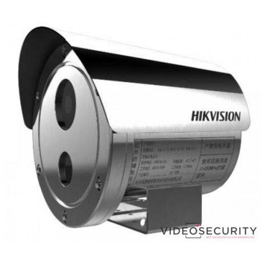 Hikvision DS-2XE6242F-IS (6mm) 4 MP WDR robbanásbiztos EXIR fix IP csőkamera; hang be- és kimenet