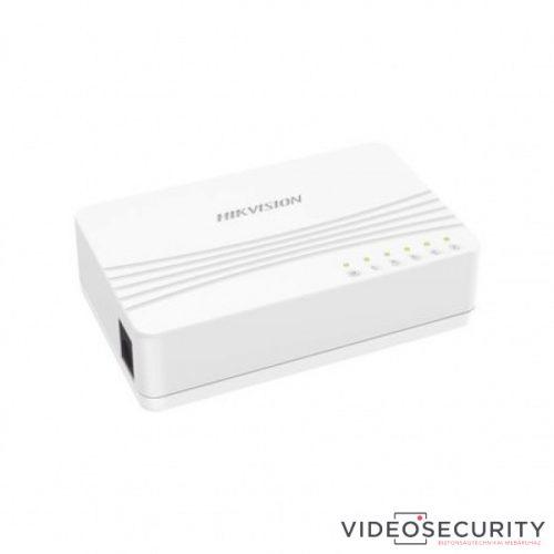 Hikvision DS-3E0105D-E 5 portos switch 10/100M nem menedzselhető