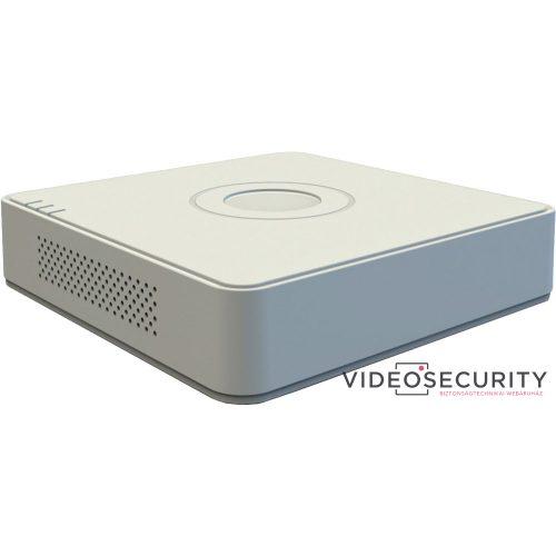 Hikvision DS-7104HQHI-K1 (S) 4 csatornás THD DVR 4MP lite@15fps 1080p lite@25fps 1080p@15fps max.6×6MP IP, koax audio