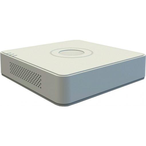 4 csatornás THD DVR; 5MP@12fps; 4MP@15fps; 1080p@25fps; max.8×8MP IP