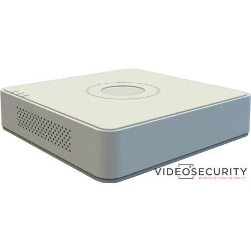 Hikvision DS-7108NI-Q1 8 csatornás NVR; 60/60 Mbps be-/kimeneti sávszélesség; műanyag fedél