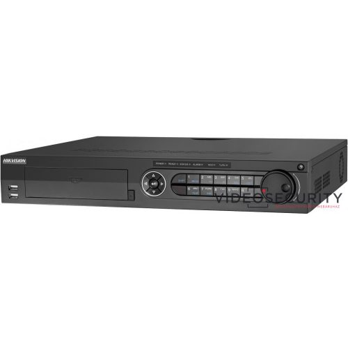 Hikvision DS-7324HQHI-K4 24 csatornás THD DVR 4MP lite@15fps1080p lite@25fps,1080p@15fpsmax.40×6MP IPriasztás be-/kimenet