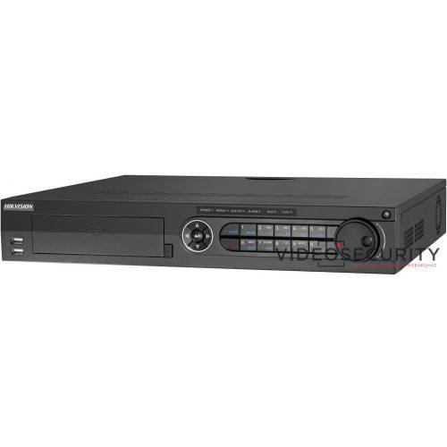 Hikvision DS-7332HQHI-K4 32 csatornás THD DVR 4MP lite@15fps1080p lite@25fps1080p@15fpsmax.48×6MP IPriasztás be-/kimenet