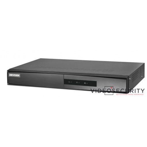 Hikvision DS-7608NI-K1/8P/A (B) 8 csatornás PoE NVR; 80/80 Mbps be-/kimeneti sávszélesség; riasztás be-/kimenet