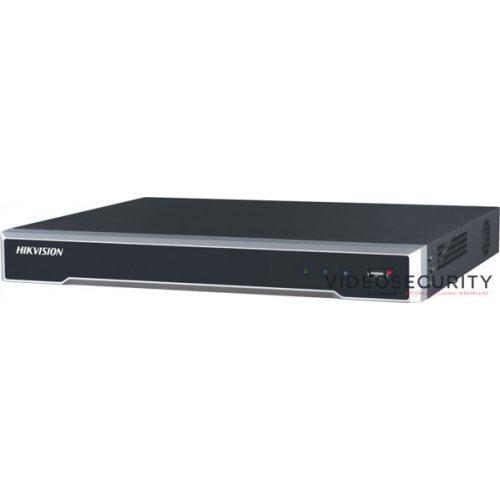 Hikvision DS-7608NI-Q2/8P 8 csatornás PoE NVR 80/80 Mbps be-/kimeneti sávszélesség