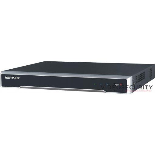 Hikvision DS-7616NI-Q2/16P 16 csatornás PoE NVR; 160/80 Mbps be-/kimeneti sávszélesség