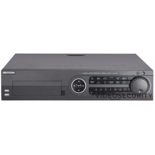 Hikvision DS-8108HQHI-K8 8 csatornás THD DVR 4MP lite@15fps 1080p lite@25fps, 1080p@15fps max.12×6MP IP riasztás I/O