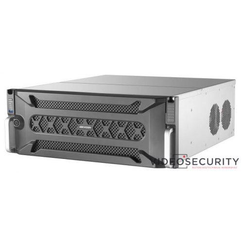 Hikvision DS-96128NI-I24 128 csatornás NVR 576/512 Mbps be-/kimeneti sávszélesség riasztás be-/kimenet