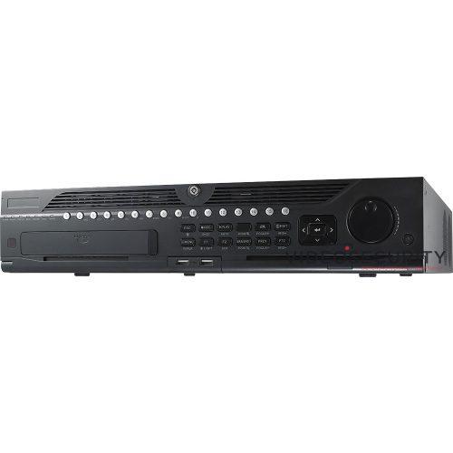 Hikvision DS-9664NI-I8 64 csatornás NVR 320/256 (RAID: 200/200) Mbps be-/kimeneti sávszélesség riasztás be-/kimenet