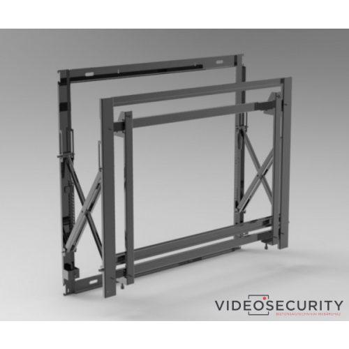 """Hikvision DS-DN4601W Fali monitortartó 46"""" kijelzőkhöz, kíhúzható"""