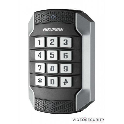 Hikvision DS-K1104MK Kártyaolvasó 13.56 MHz (Mifare) RS485 és Wiegand kimenet kültéri billentyűzettel