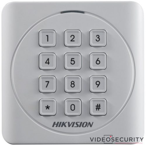Hikvision DS-K1801MK Kártyaolvasó 13,56 MHz Wiegand kimenet kültéri billentyűzettel