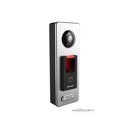 Hikvision DS-K1T501SF Beléptető vezérlő terminál kamerával; Mifare és ujjnyomat-hitelesítés