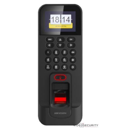 Hikvision DS-K1T804AMF Beléptető vezérlő terminál ujjnyomat- és Mifare hitelesítéssel RS485 és Wiegand kimenet