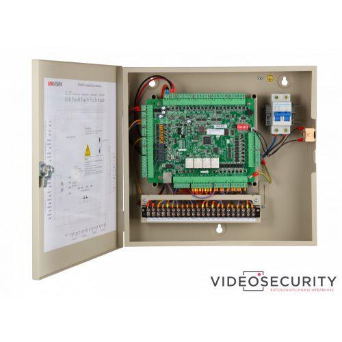Hikvision DS-K2604 Ajtóvezérlő 4 ajtóhozkét irány4 Wiegand&8 RS485 olvasó4/8 alarm/esemény be-& 4 alarm relé kimenet
