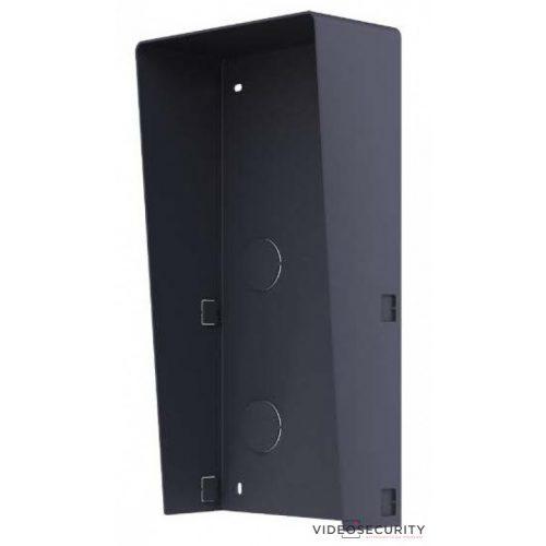 Hikvision DS-KABD8003-RS2 Társasházi IP video-kaputelefon esővédő keret 2 modulos verzió
